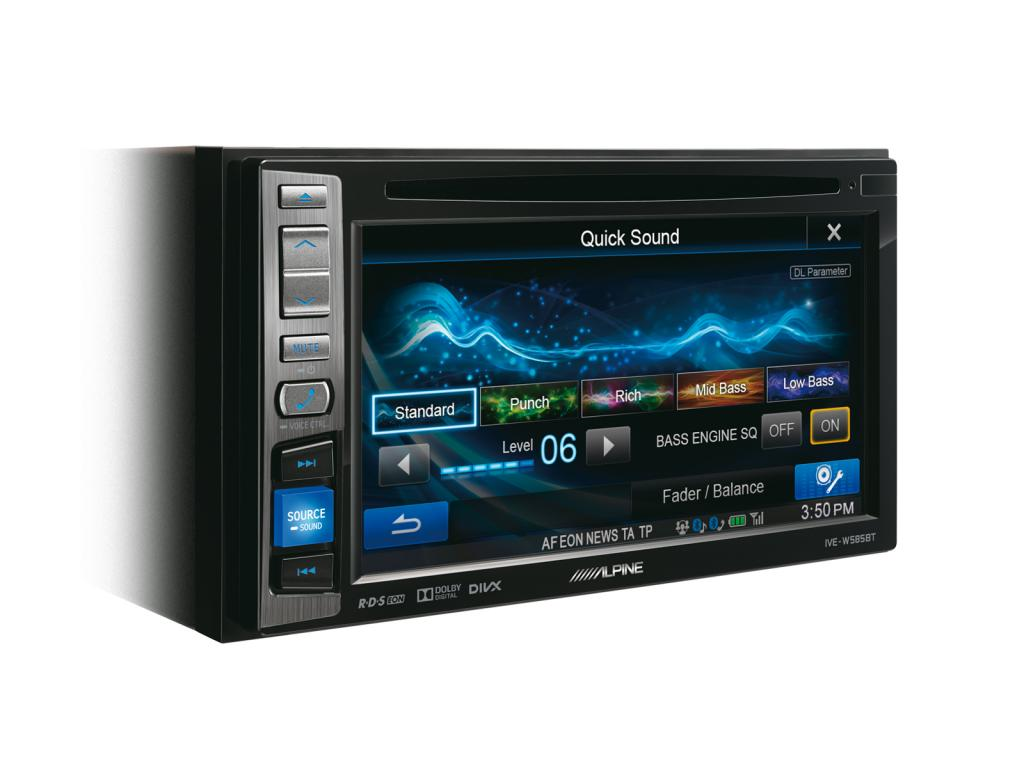 DVD Auto Alpine IVE-W585BT