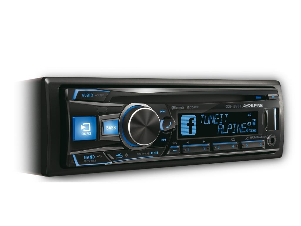 CD Player Auto Alpine CDE-185BT