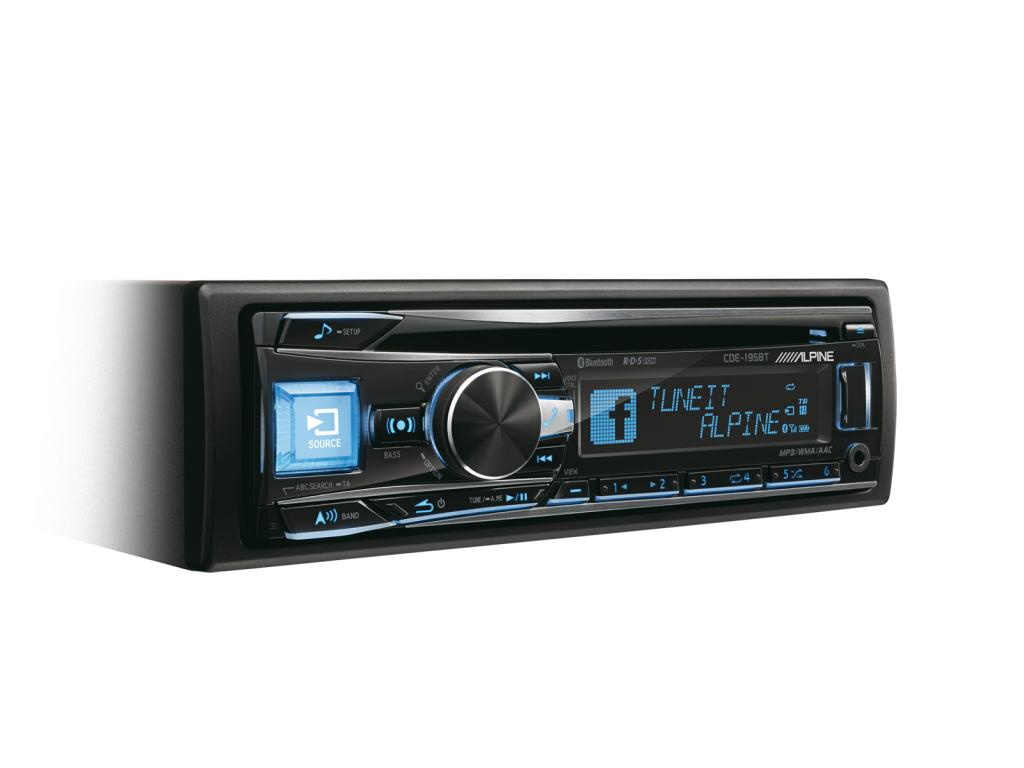 CD Player Auto Alpine CDE-195BT