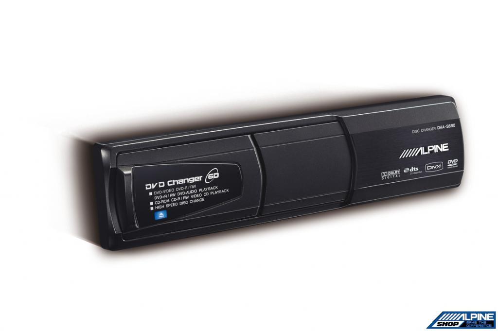 DVD Changer Auto Alpine DHA-S690