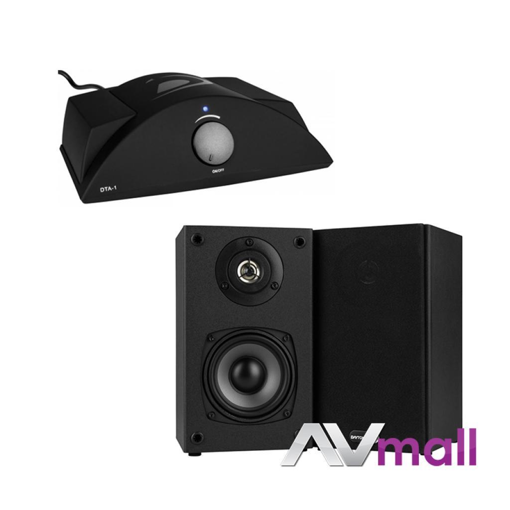 Pachet Amplificator Integrat Dayton Audio DTA-1 Class T + Boxe Dayton Audio B452