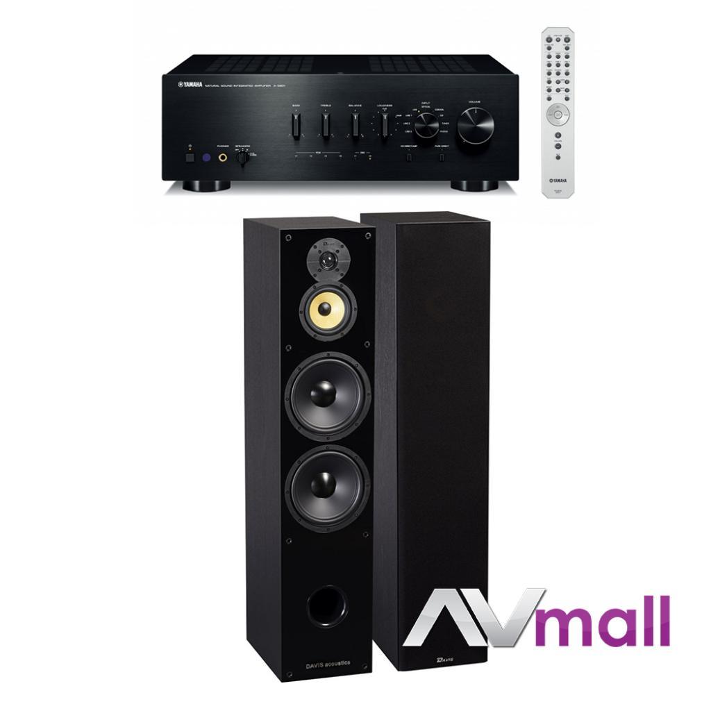 Pachet Amplificator Integrat Yamaha A-S801 + Boxe Davis Acoustics Balthus 90
