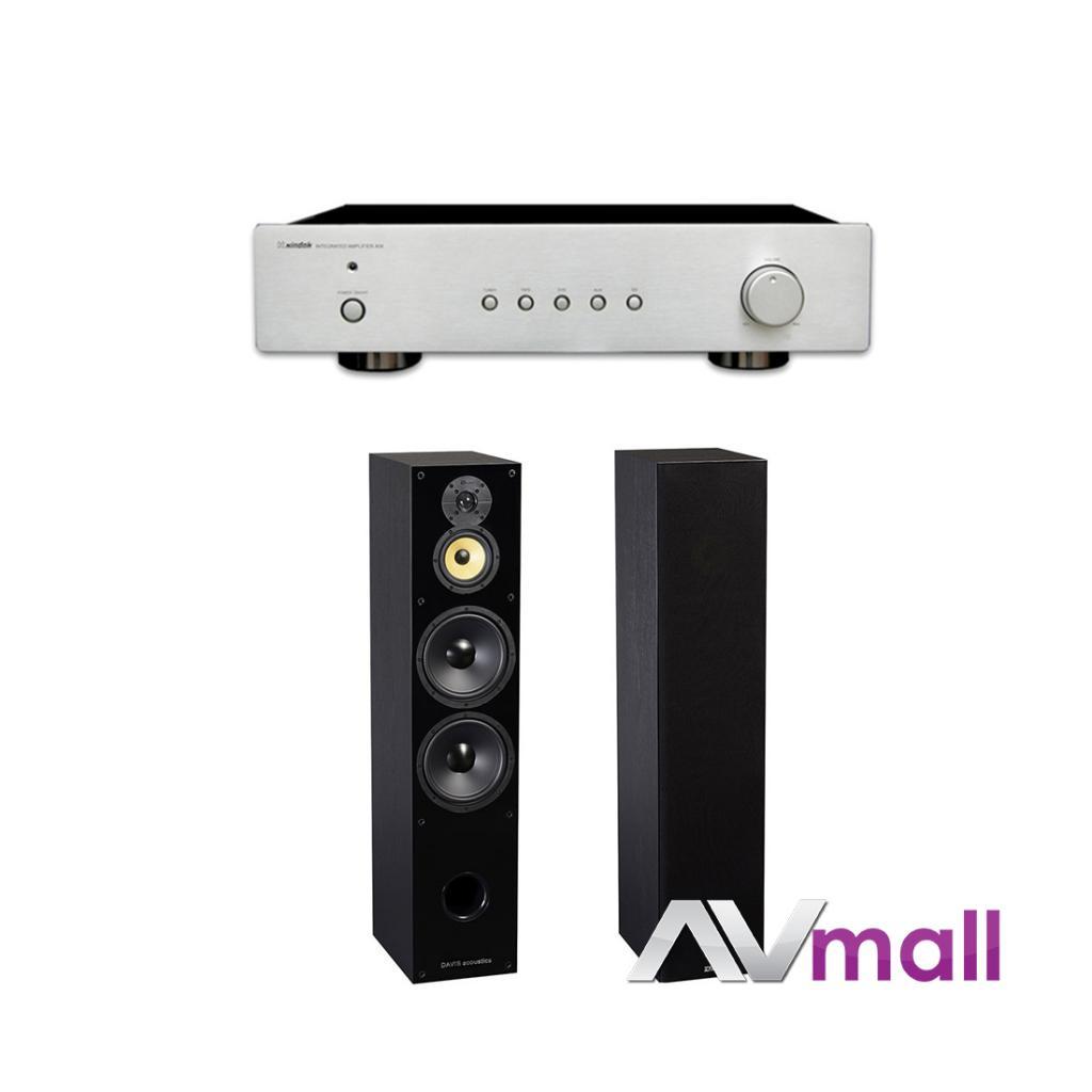 Pachet Amplificator Integrat Xindak A06 + Boxe Davis Acoustics Balthus 70