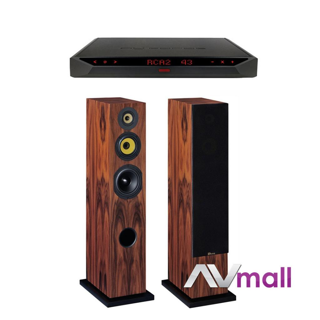 Pachet Amplificator Integrat NUPRiME IDA-16 + Boxe Davis Acoustics Cezanne