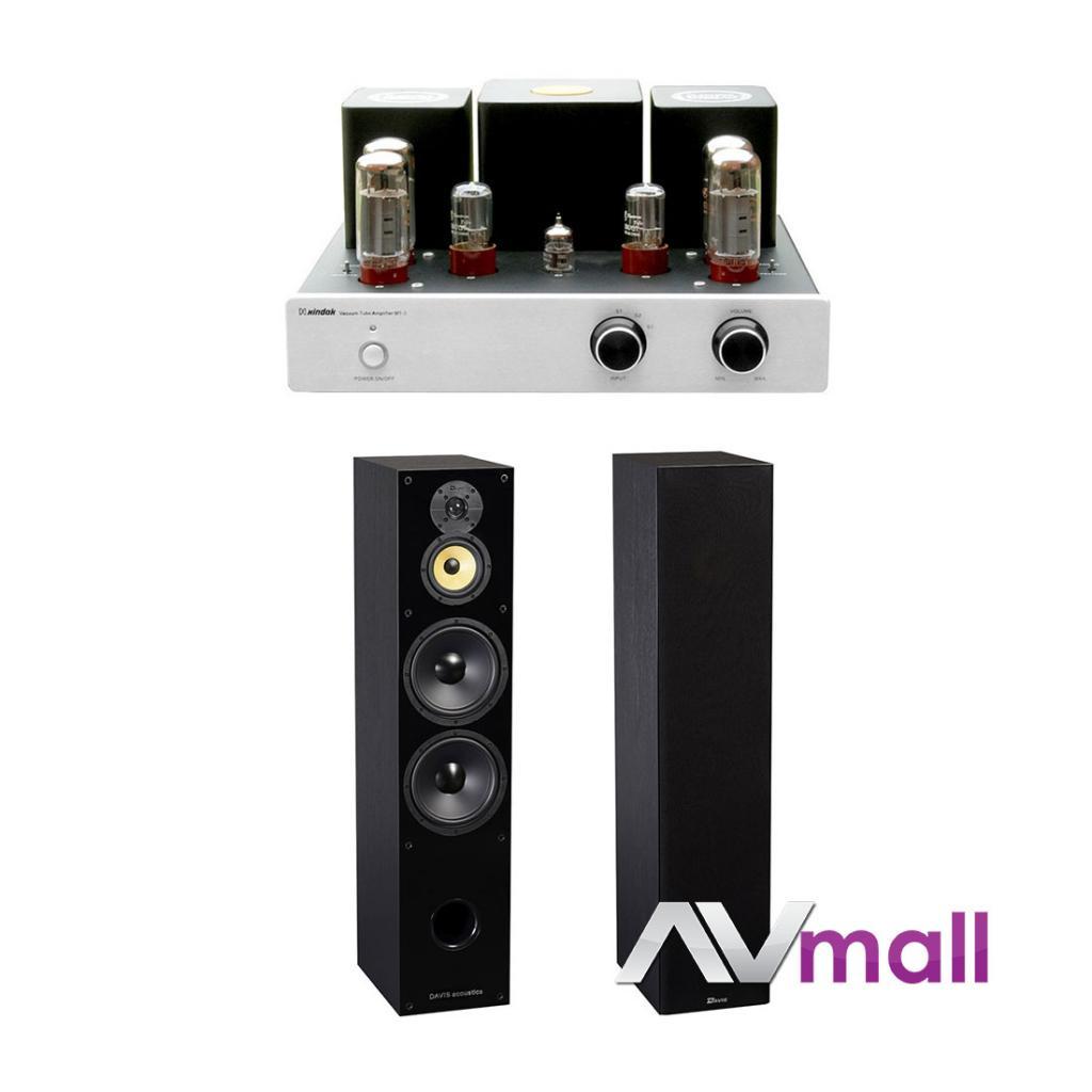 Pachet Amplificator Integrat Xindak MT-3 class A + Boxe Davis Acoustics Balthus 70