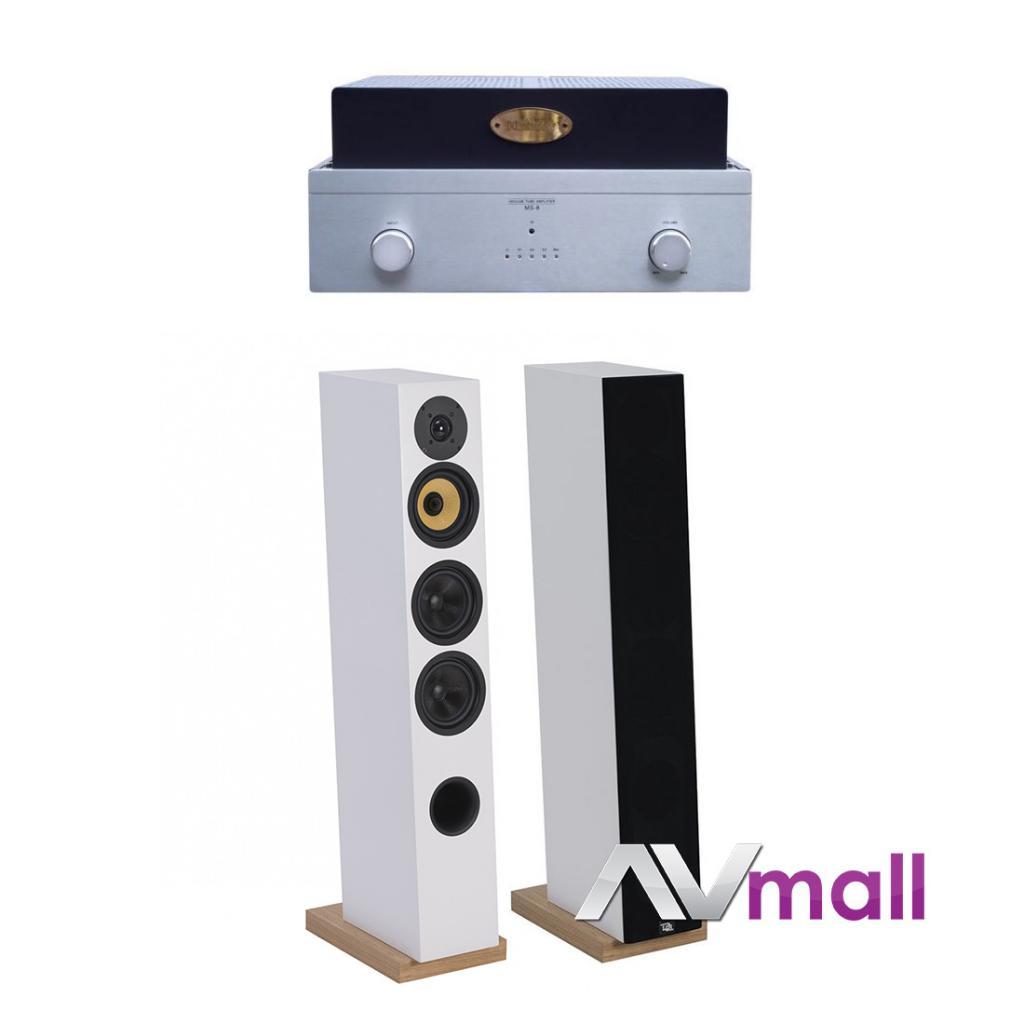 Pachet Amplificator Integrat Xindak MS-9 + Boxe Davis Acoustics Courbet N 5