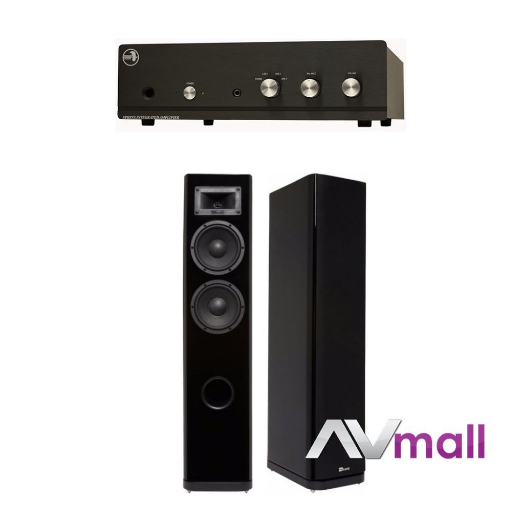 Pachet Amplificator Integrat Rogue Audio Sphinx V2 + Boxe Davis Acoustics Stentaure Serie 30