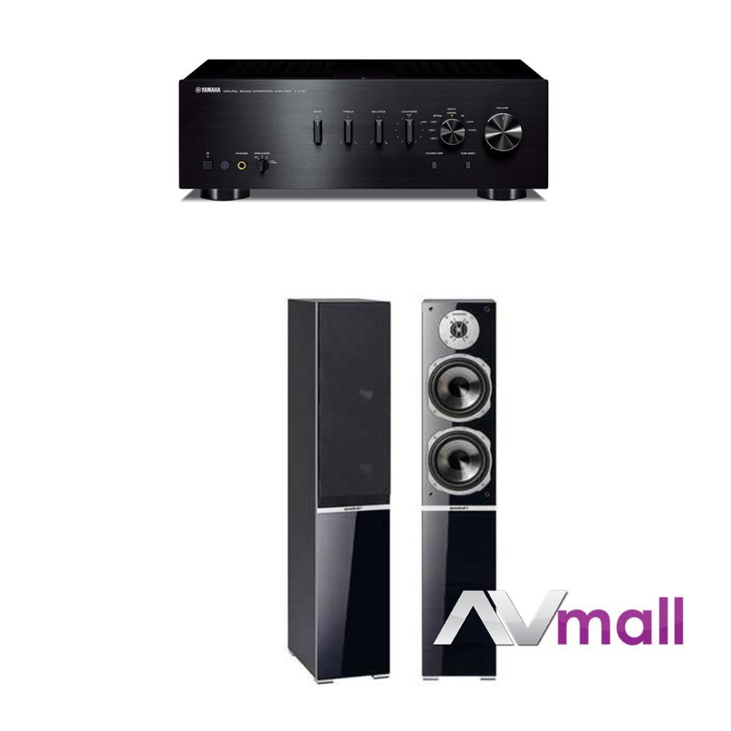 Pachet Amplificator Integrat Yamaha A-S701 + Boxe Quadral Argentum 570