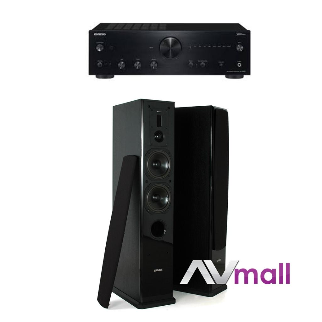 Pachet Amplificator Integrat Onkyo A-9150 + Boxe Dynavoice Definition DF-5