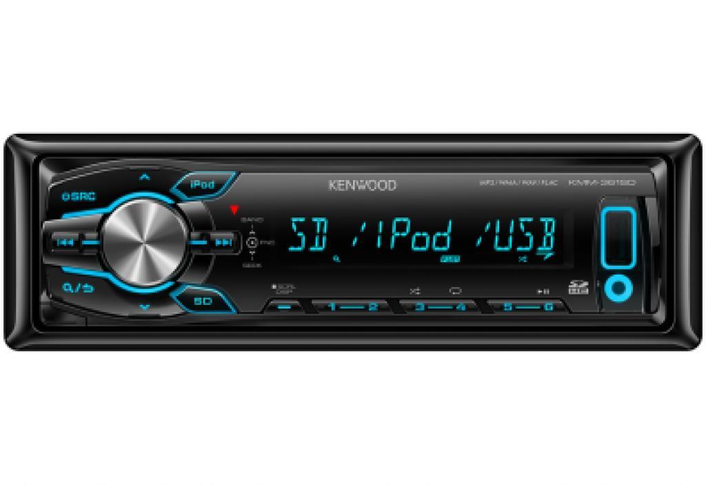 Media Receiver Digital Auto Kenwood KMM-361SD