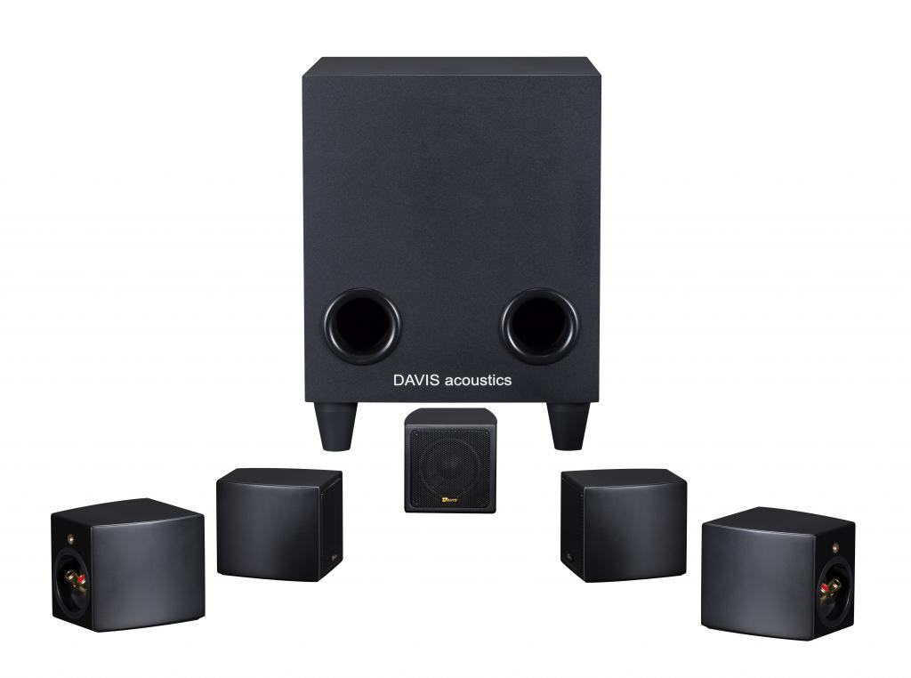Sistem de Boxe 5.1 Davis Acoustics Cinestyle