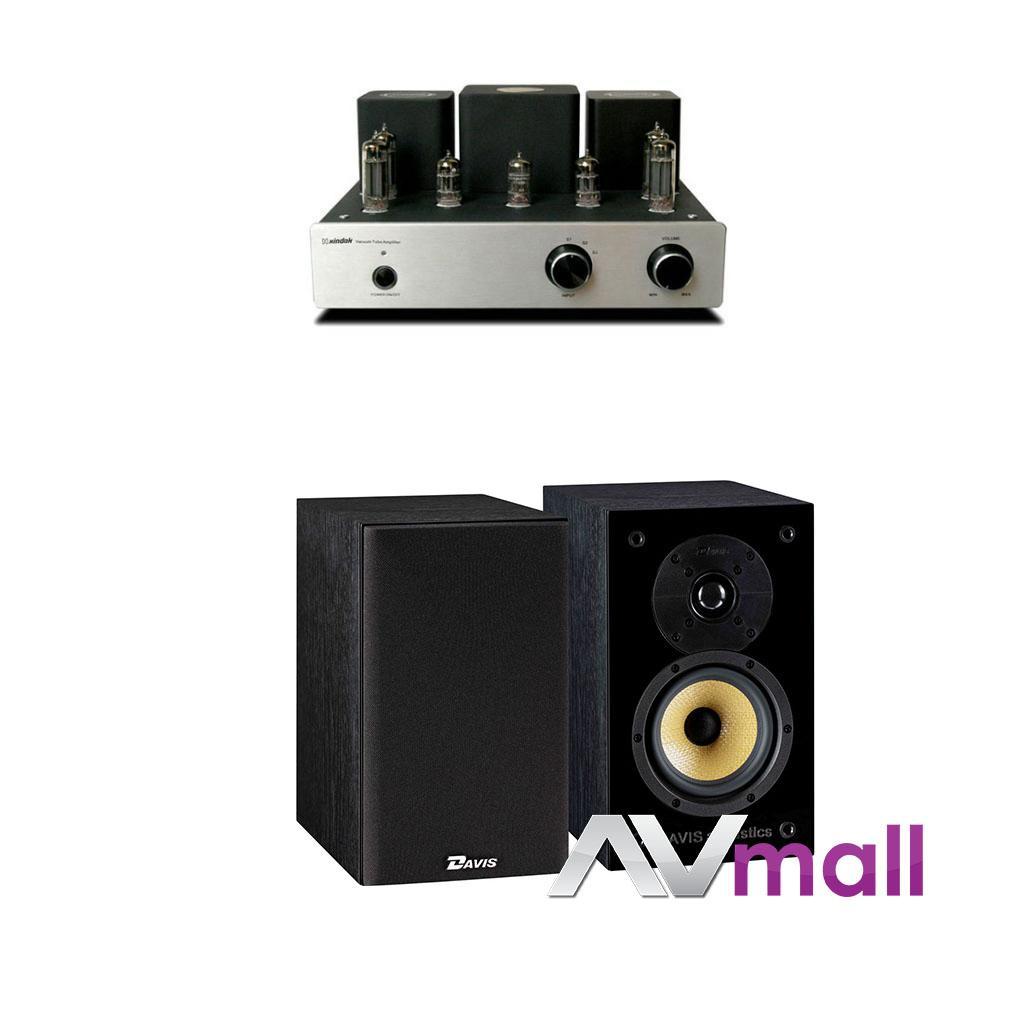 Pachet Amplificator Integrat Xindak MT-1 + Boxe Davis Acoustics Balthus 30