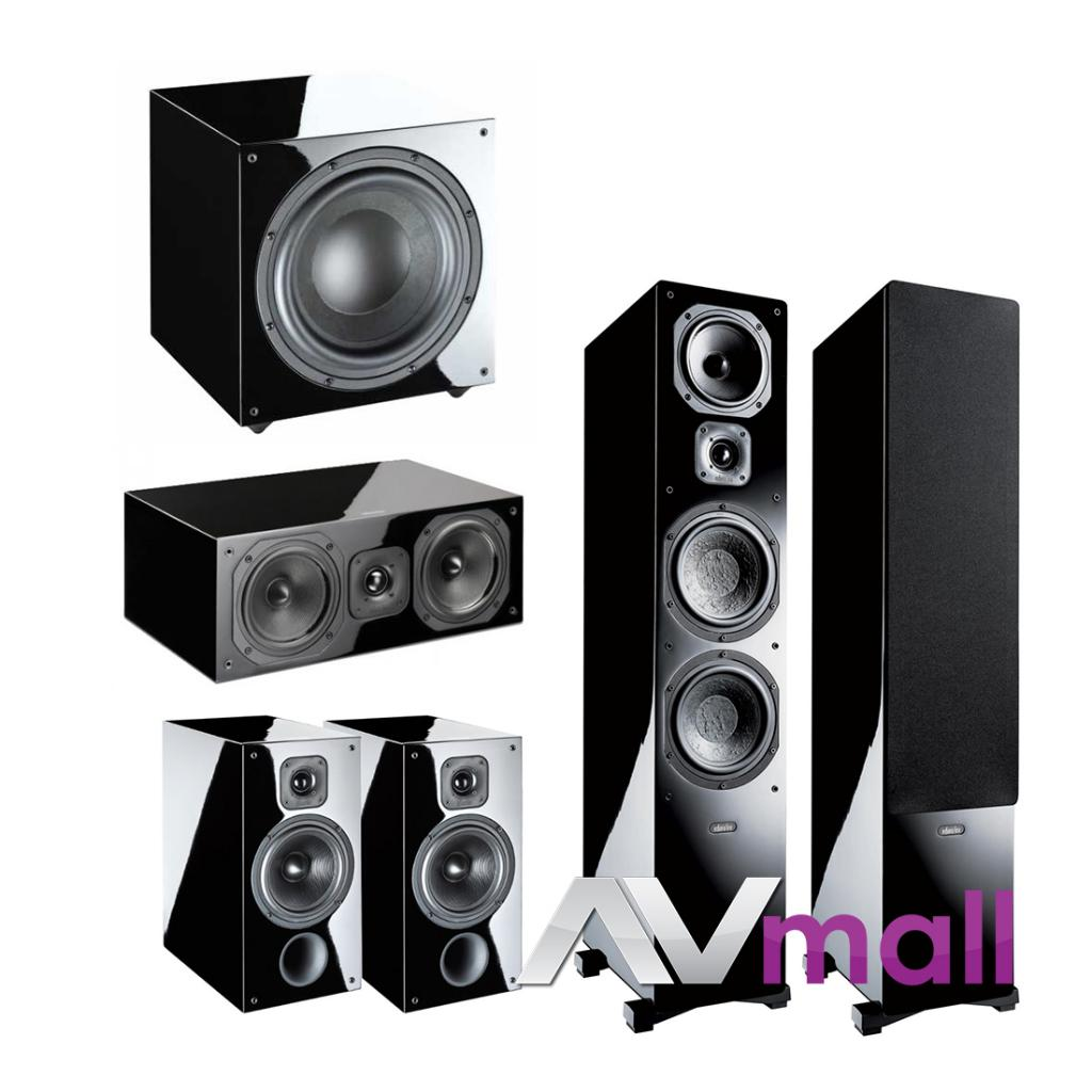 Pachet Boxe Indiana Line Diva 660 + Boxe Indiana Line Diva 262 + Boxa Indiana Line Diva 752 + Subwoofer Activ Indiana Line Basso 942