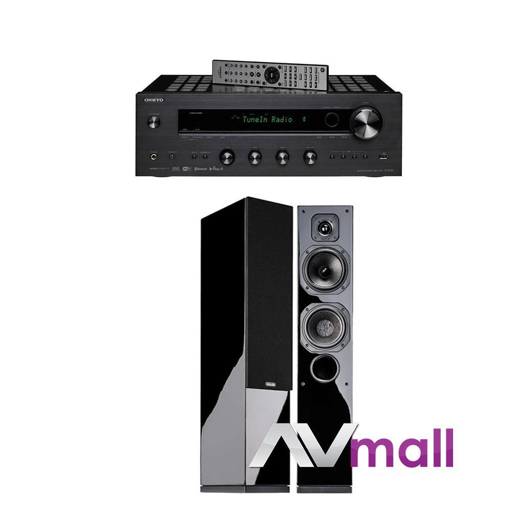 Pachet Amplificator Receiver Onkyo TX-8250 + Boxe Indiana Line Diva 552