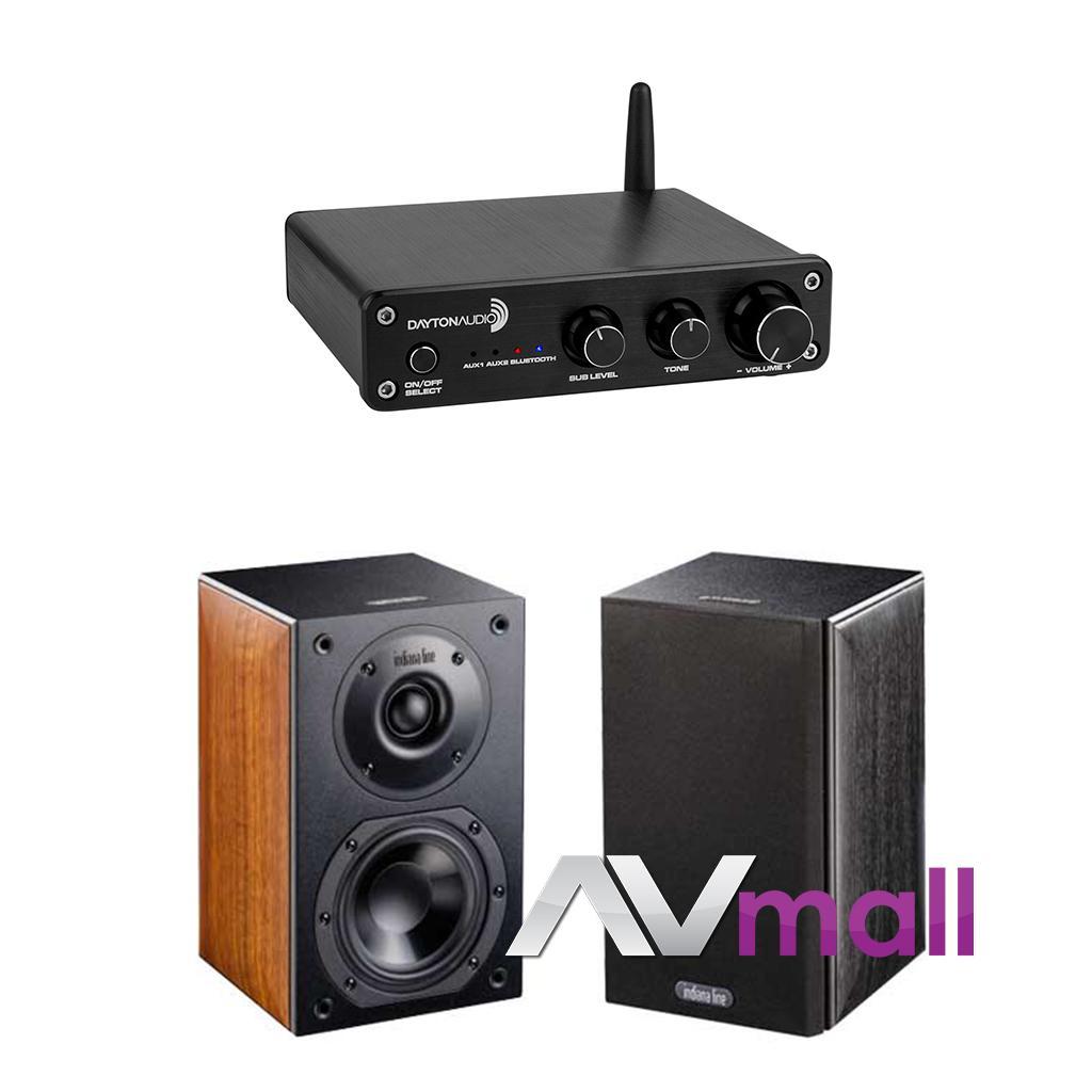 Pachet Amplificator Integrat Dayton Audio DTA-2.1BT + Boxe Indiana Line Nota 240 X