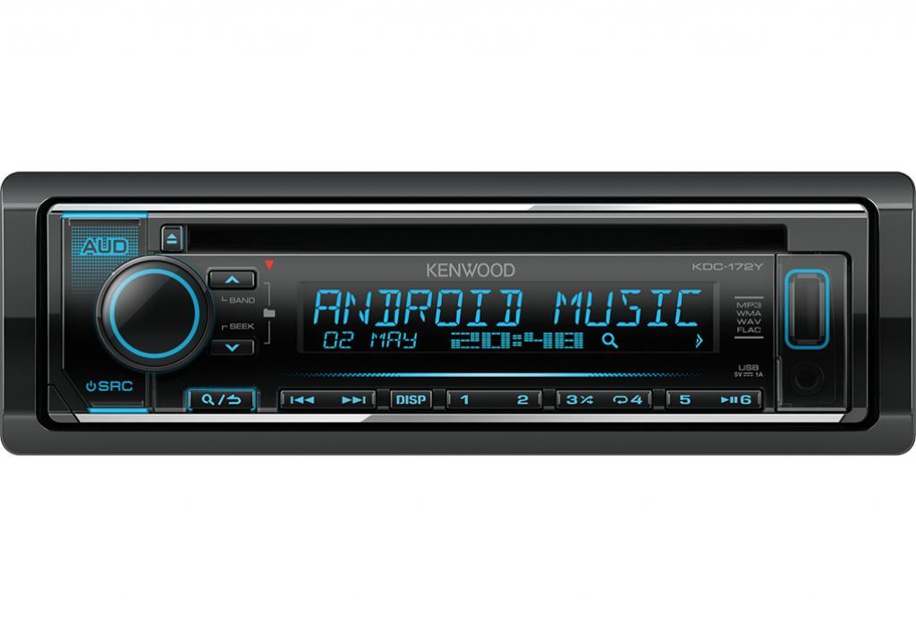 CD Player Auto Kenwood KDC-172Y