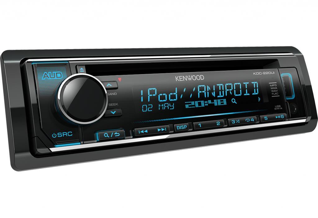 CD Player Auto Kenwood KDC-220UI