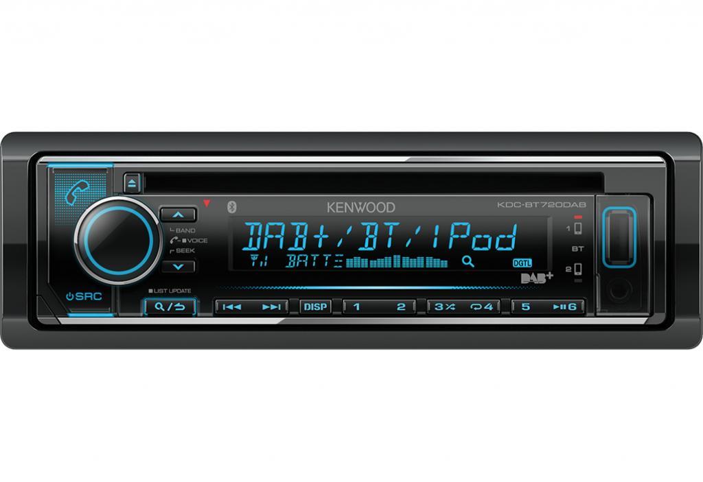 CD Player Auto Kenwood KDC-BT720DAB