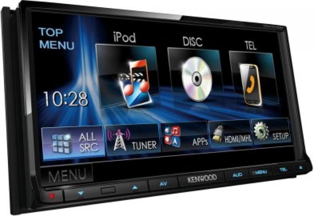 DVD Player Auto Kenwood DDX-7015BT