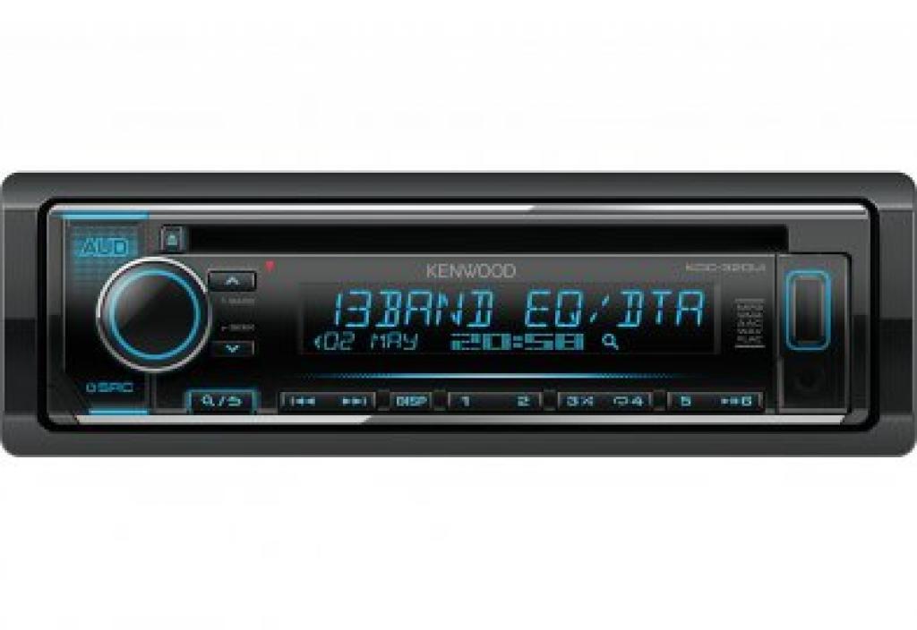 CD Player Auto Kenwood KDC-320UI