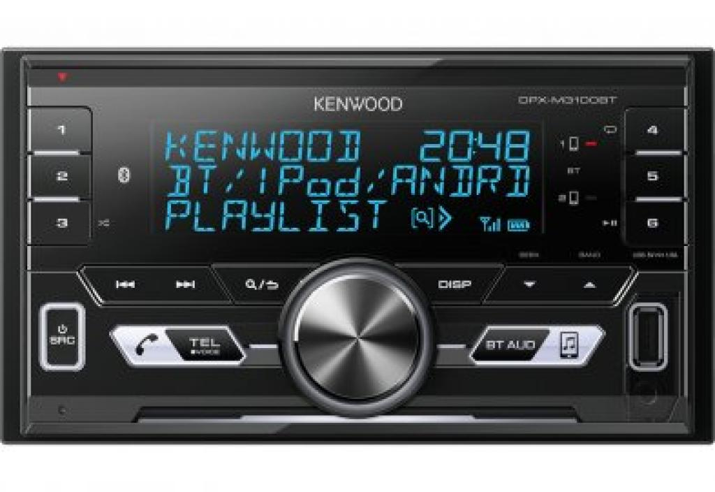 Unitate multimedia Auto Kenwood DPX-M3100BT