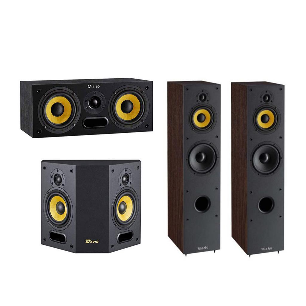 Pachet Boxe Davis Acoustics Mia 60 + Boxe Davis Acoustics Mia 40 + Boxa Davis Acoustics Mia 10