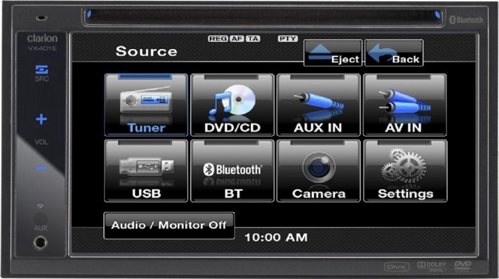 Unitate Multimedia Clarion VX-401E