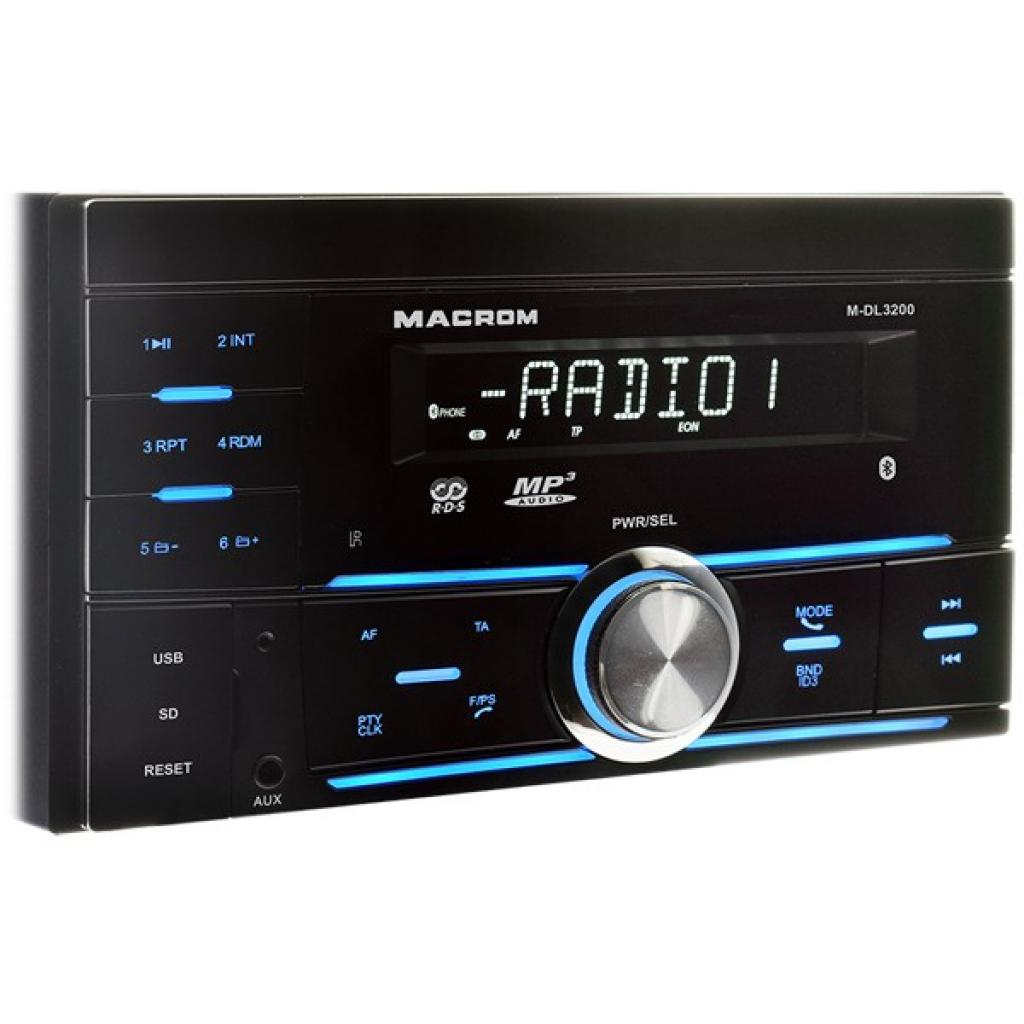Player Auto Macrom M-DL3200