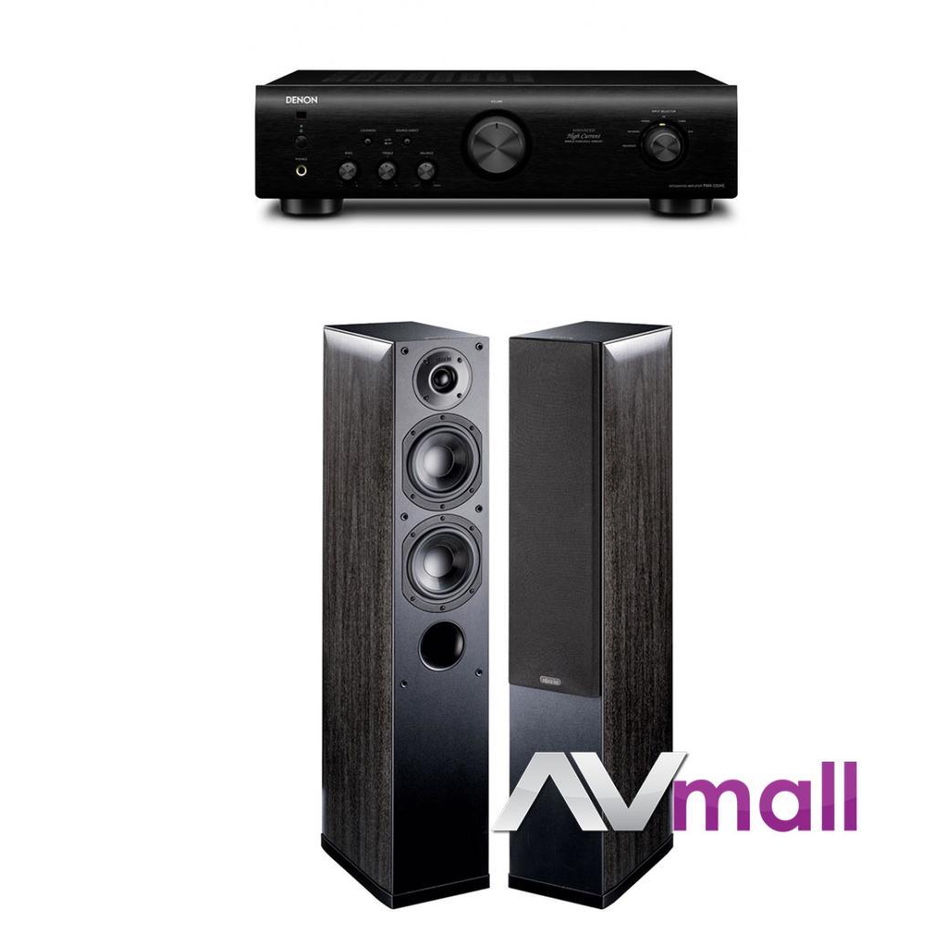 Pachet Amplificator Integrat Denon PMA-520AE + Boxe Indiana Line Nota 550 X