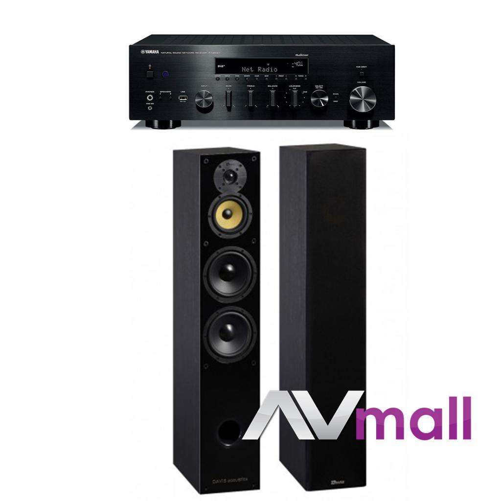 Pachet Amplificator Receiver Yamaha R-N803D + Boxe Davis Acoustics Balthus 70