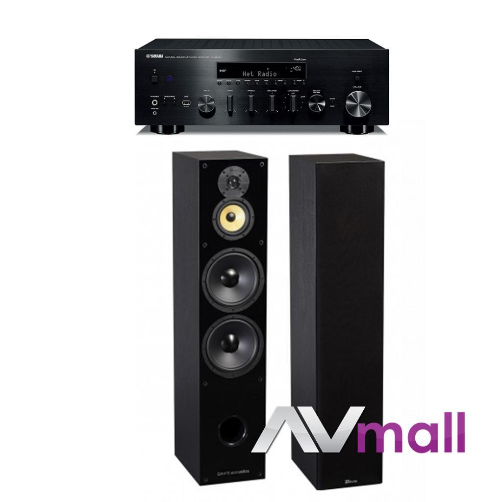 Pachet Amplificator Receiver Yamaha R-N803D + Boxe Davis Acoustics Balthus 90
