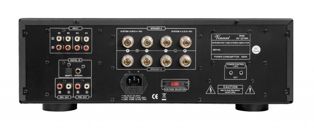 Amplificator Integrat Hybrid Vincent SV-227MK Negru
