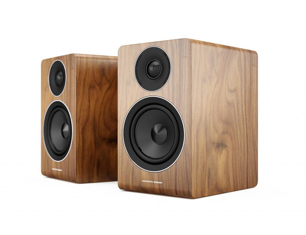 Boxe Acoustic Energy AE100 Walnut vinyl veneer