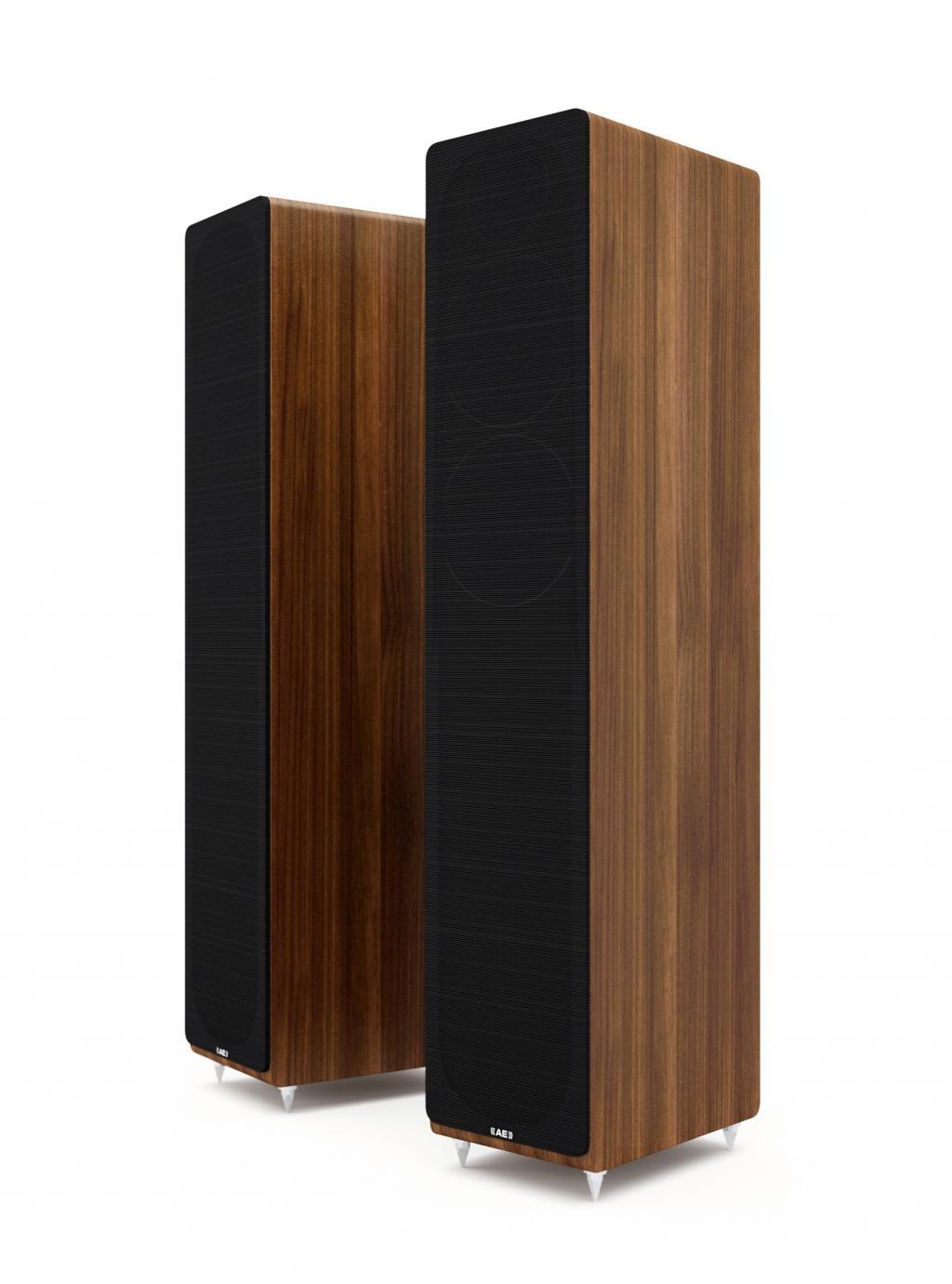 Boxe Acoustic Energy AE309 Walnut wood veneer