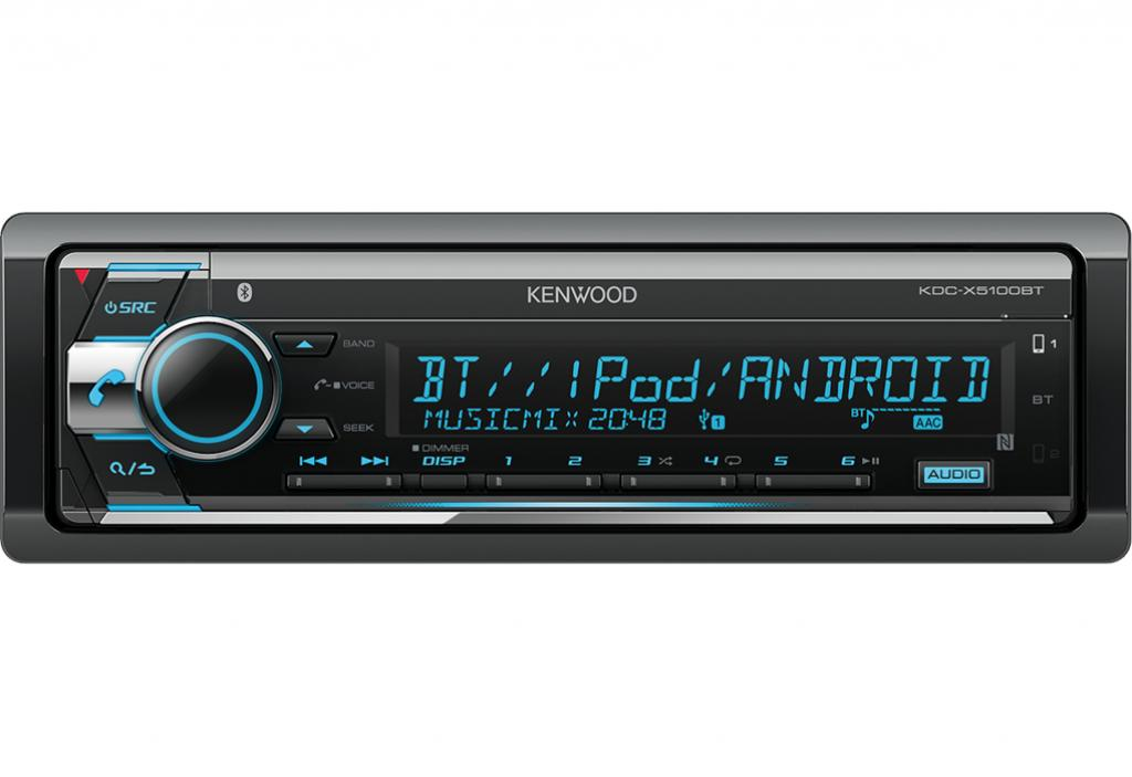 Player Auto Kenwood KDC-X5100BT