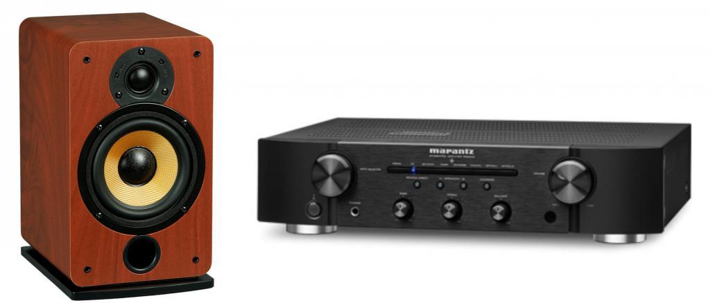Pachet Amplificator Integrat Marantz PM6006 + Boxe Davis Acoustics Eva