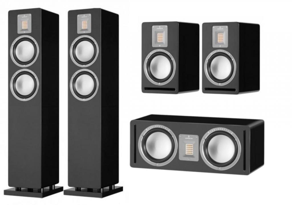 Pachet Boxe Audiovector QR 3 + Boxe Audiovector QR 1 + Boxa Audiovector QR C
