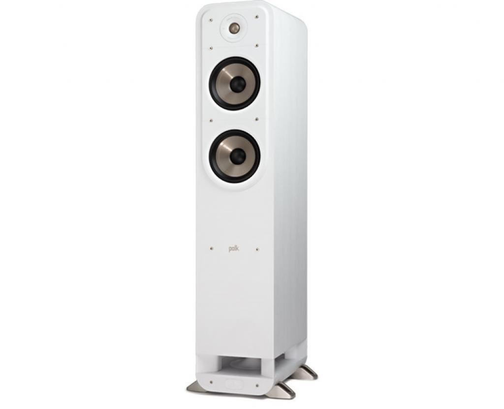 Boxe Polk Audio Signature S55E, Alb