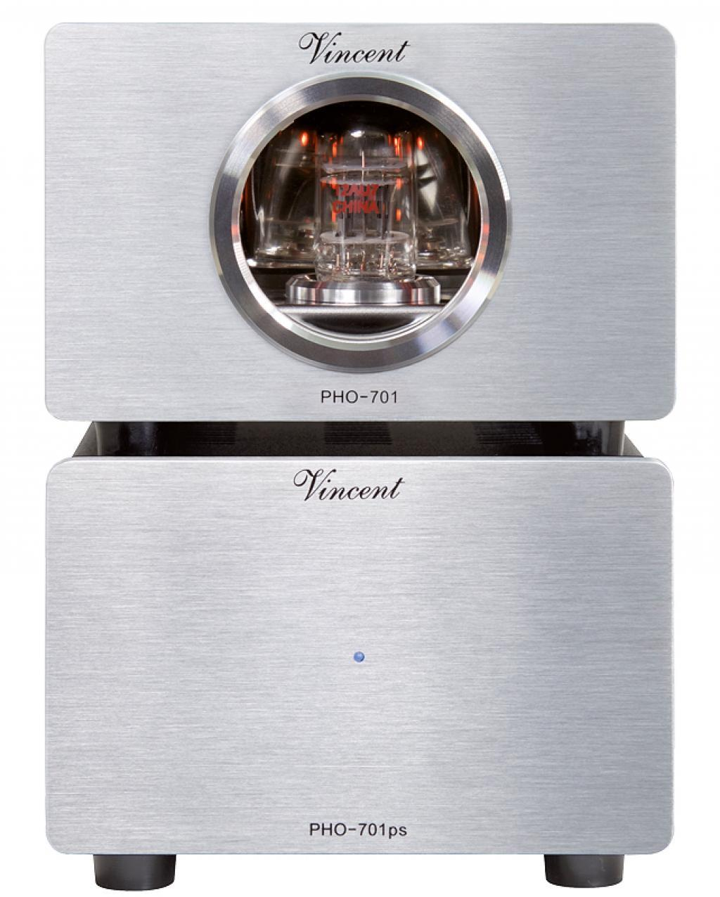Preamplificator Phono Vincent PHO-701 Argintiu