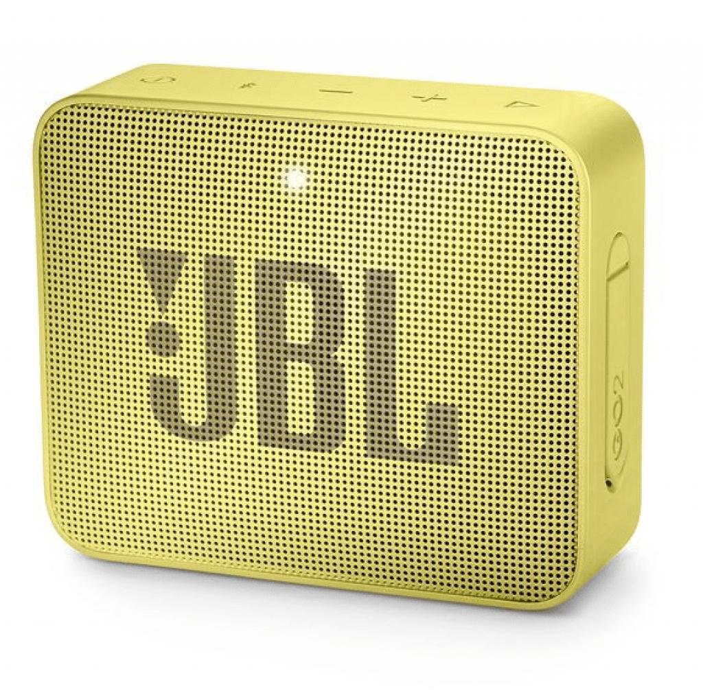 Boxa Activa Portabila JBL GO 2 Sunny Yellow