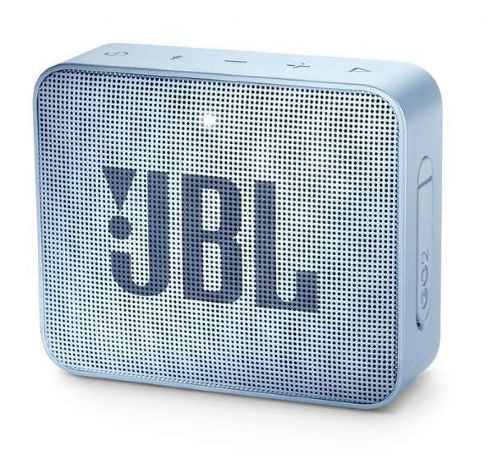 Boxa Activa Portabila JBL GO 2 Icecube Cyan
